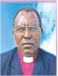 Bishop John Mativo Secretary General.